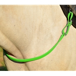 LIME GREEN ONE PIECE BREAST STRAP made from BETA BIOTHANE