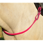 PINK ONE PIECE BREAST STRAP made from BETA BIOTHANE (Solid Colored)