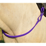 PURPLE ONE PIECE BREAST STRAP made from BETA BIOTHANE (Solid Colored)