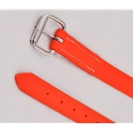 orange STIRRUP LEATHERS made from BETA BIOTHANE