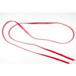 red RIDING REINS (Solid Colored) made from BETA BIOTHANE