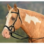 Sidepull Bitless Headstall in Black (Warmblood Size)**Discount Tack**