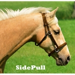 2 in 1 Bitless Headstall in Brown Beta Biothane (Horse Size)**Discount Tack**