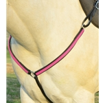 Western Breastcollar in Black and Pink (Large Pony Size) **Discount Tack**