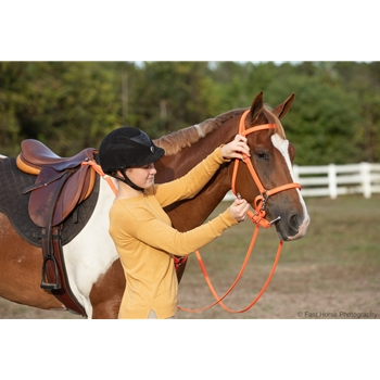 Traditional HALTER BRIDLE with BIT HANGERS made from BETA BIOTHANE (Solid Colored)