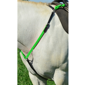 Green Bean Endurance Official Tack ENGLISH BREAST COLLAR made from BETA BIOTHANE (Mix N Match)