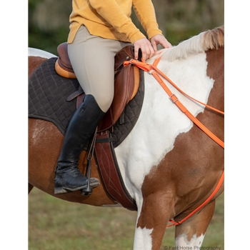 ENGLISH BREAST COLLAR made from BETA BIOTHANE (Solid Colored)