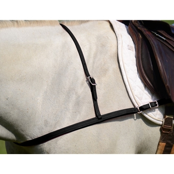 BLACK JUMPING ENGLISH BREAST COLLAR made from BETA BIOTHANE