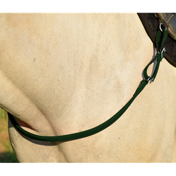 HUNTER GREEN ONE PIECE BREAST STRAP made from BETA BIOTHANE