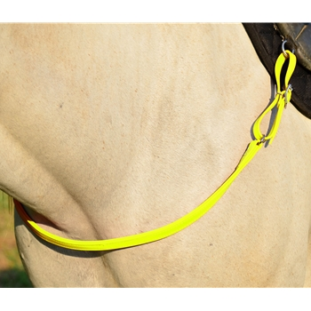 YELLOW ONE PIECE BREAST STRAP made from BETA BIOTHANE